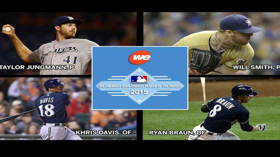 Brewers August nominees