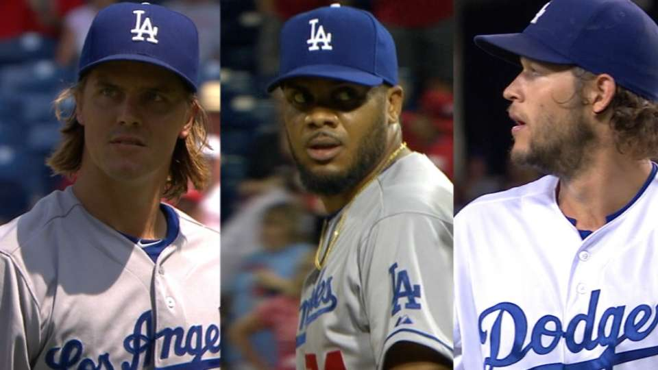 Dodgers' August nominees