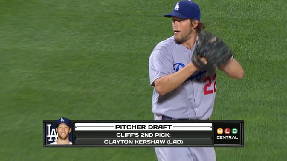 Central drafts playoff pitchers