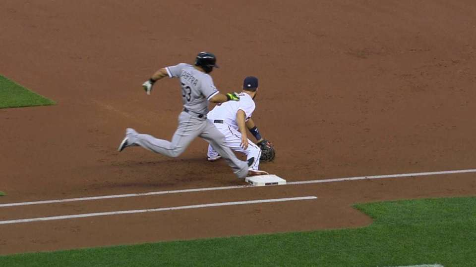 Twins challenge Melky's hit