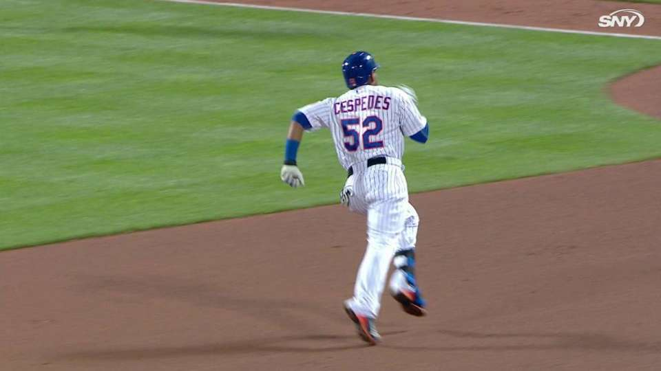 Cespedes' triple in the 7th