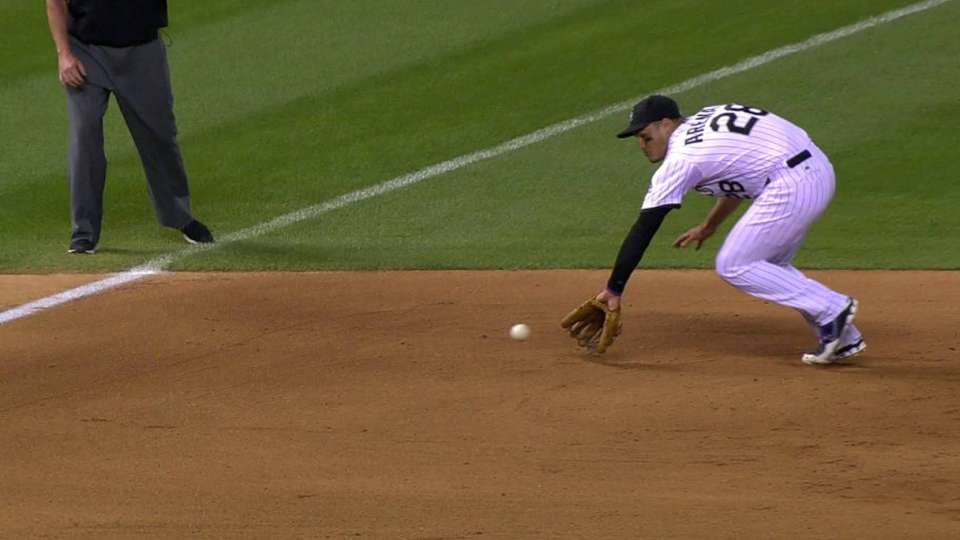 Arenado's nice play ends the 4th