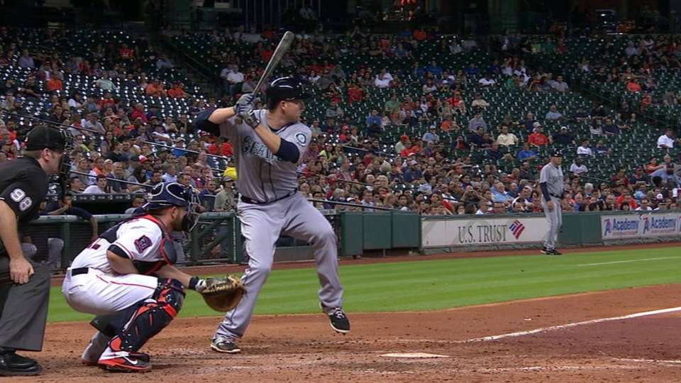 Trumbo's homer hits train