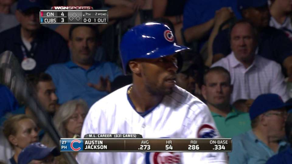 Jackson gets ovation in first AB