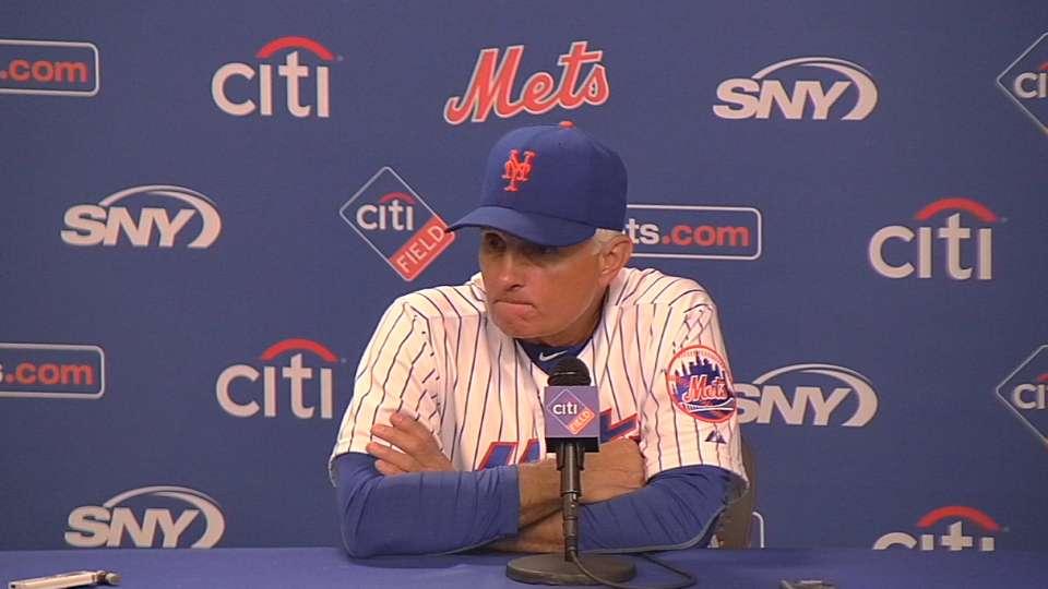 Collins on Mets' 14-8 loss