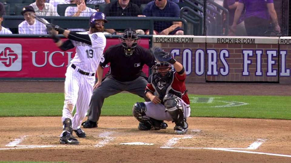 De La Rosa strikes out Blackmon