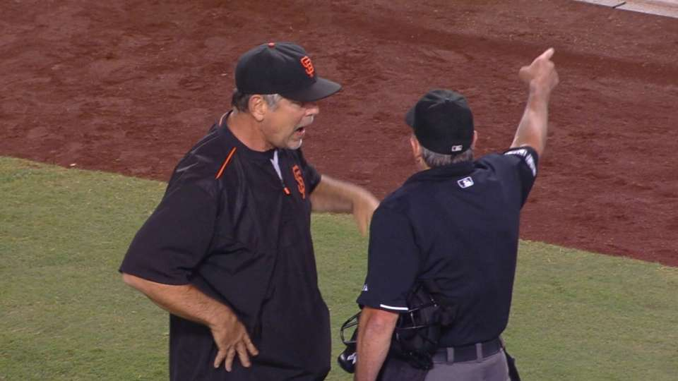 Peavy, Bochy get tossed