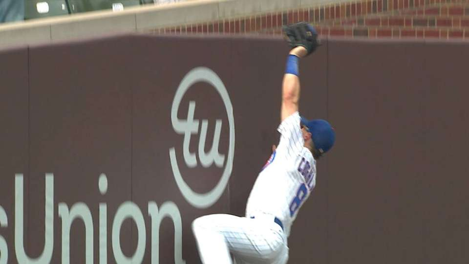 Coghlan's leaping catch
