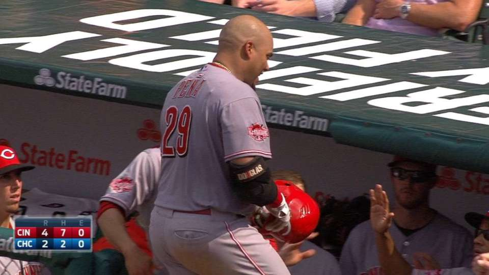 Pena's RBI groundout