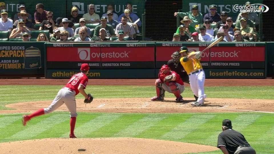 Phegley's two-run homer
