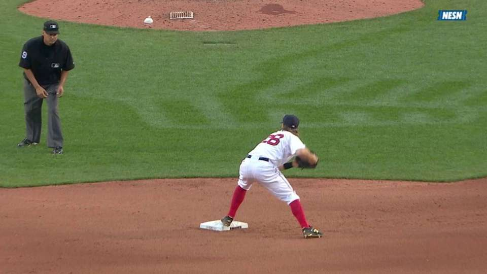 Breslow starts double play