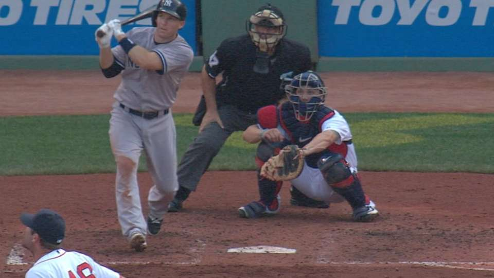 Yankees' five home runs