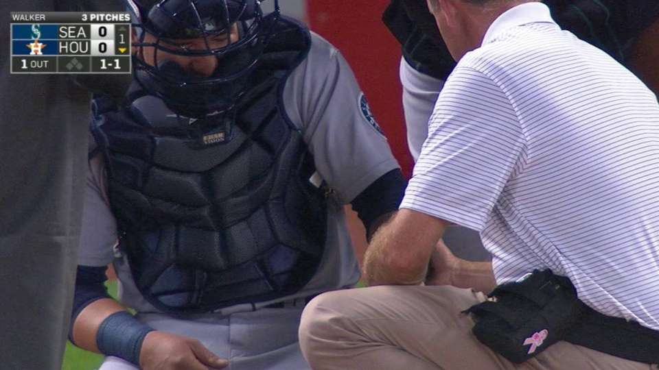 Sucre shaken up on foul