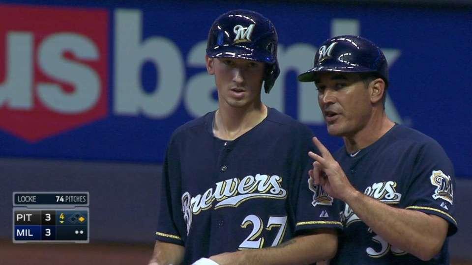 Davies' first Major League hit