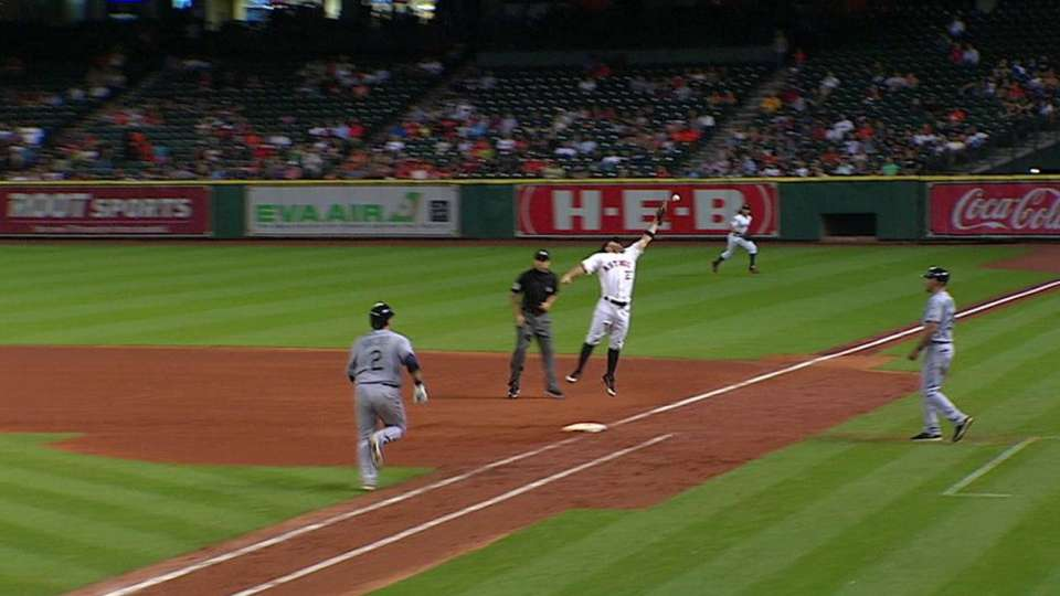 Sucre reaches in 8th on error