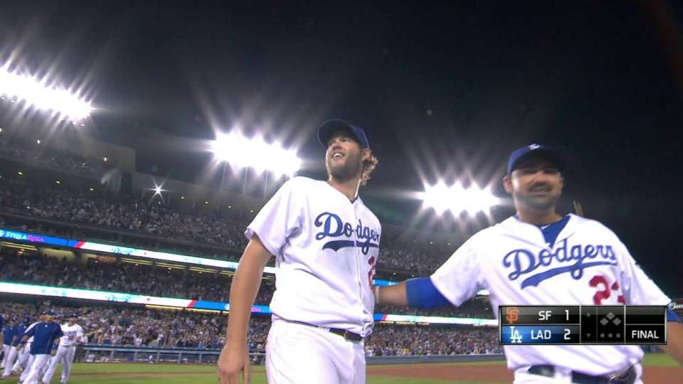 Kershaw ends complete game