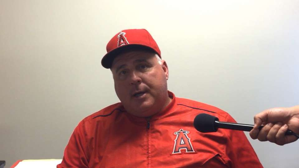 Scioscia talks 9-4 road win