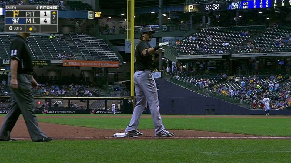 Morse's first triple of the year