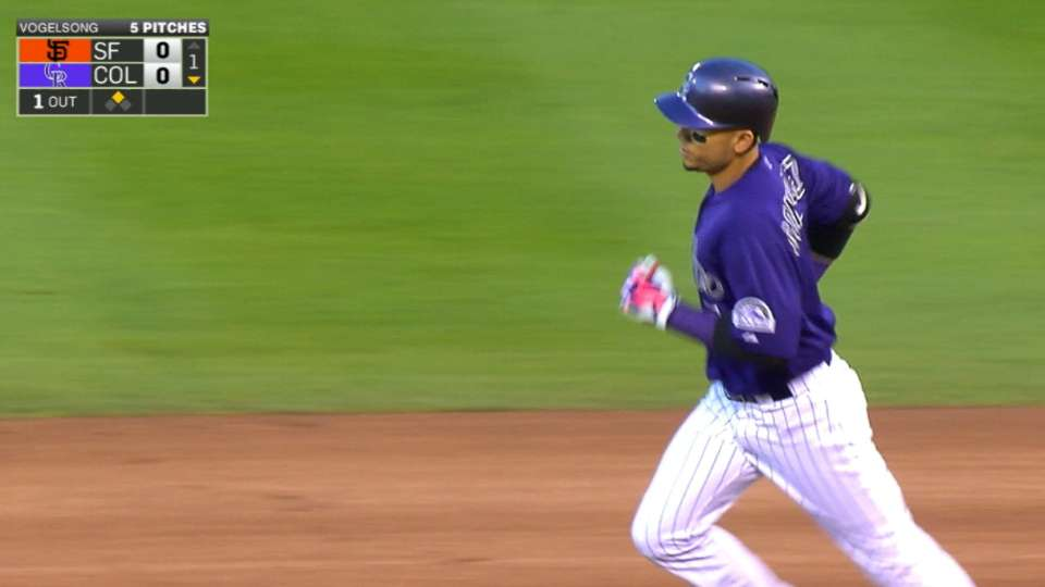 CarGo's four hits, two homers