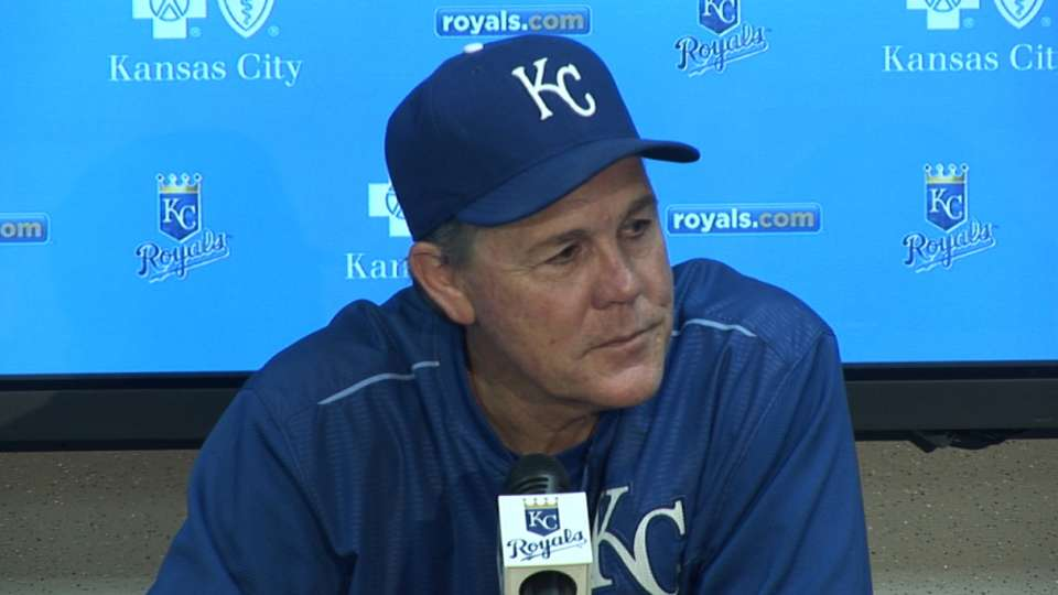 Yost on Royals' 15-7 victory