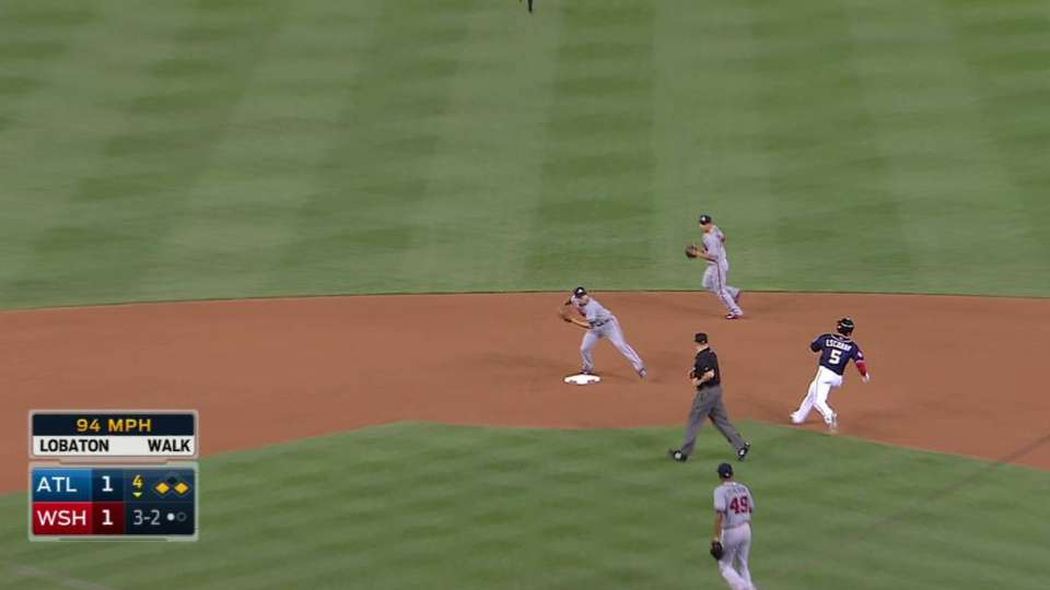 Braves' big double play