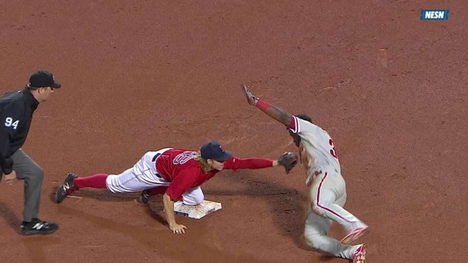Castillo throws out Herrera