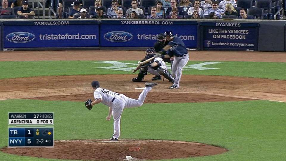 Arencibia's RBI double