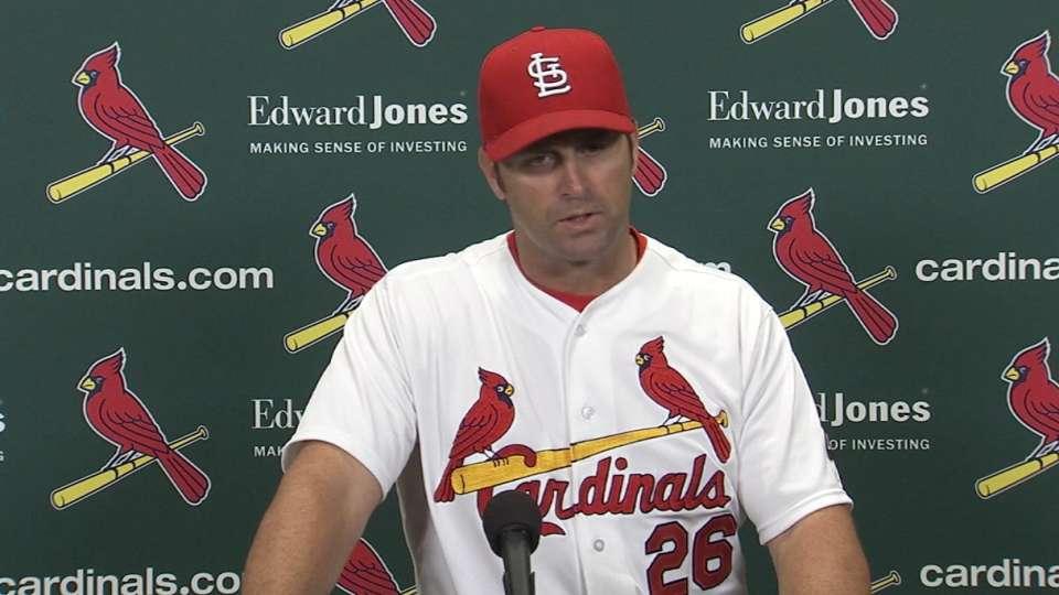 Matheny on Cardinals' 9-3 loss