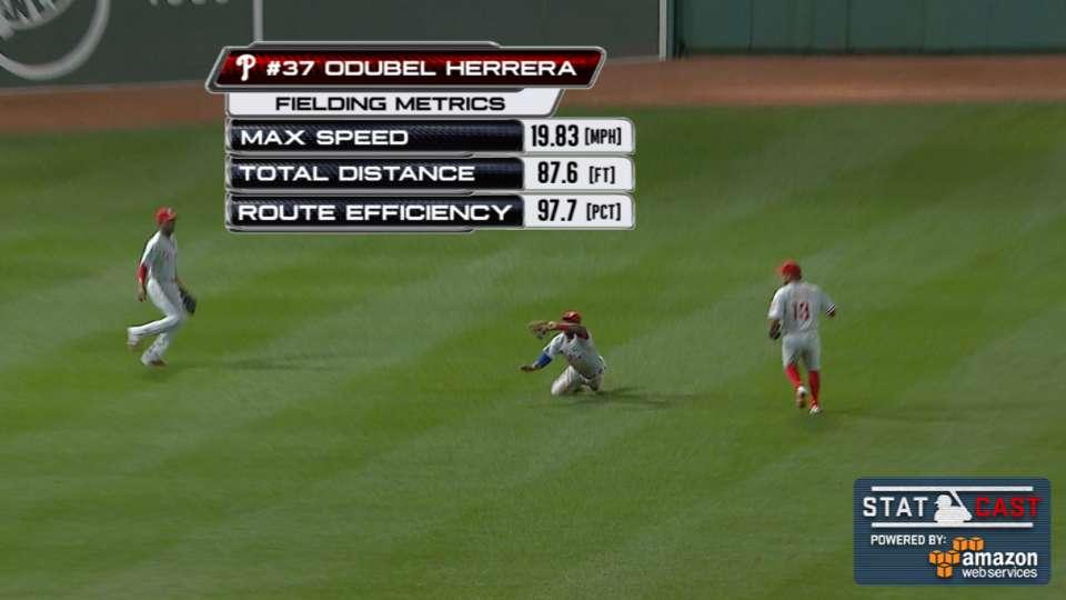 Statcast: Herrera robs a hit