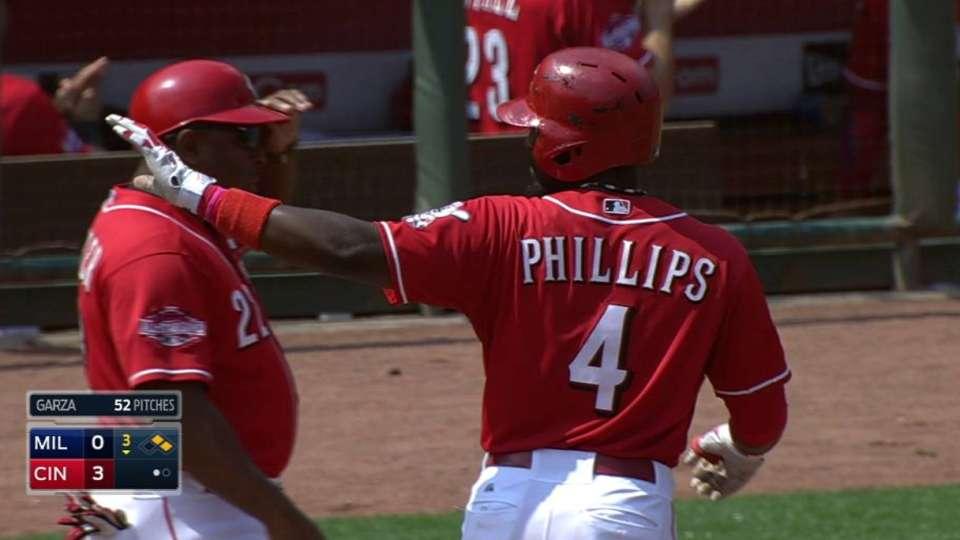 Phillips' RBI single