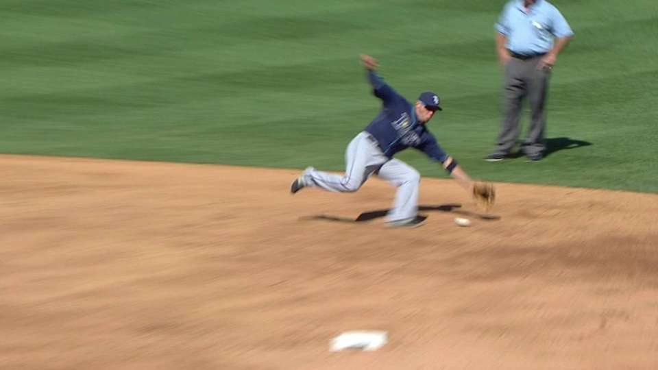 Cabrera's nice sliding stop