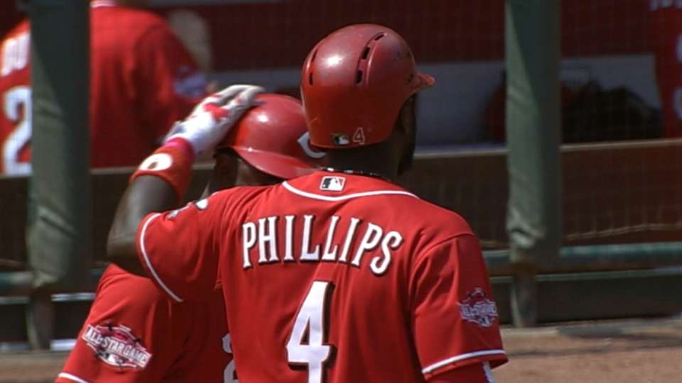 Phillips' big day at the dish