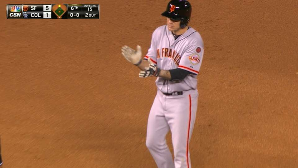 Peavy doubles twice, notches RBI