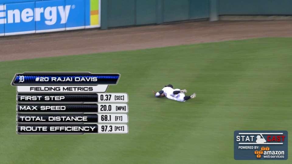 Statcast: Davis takes hit away