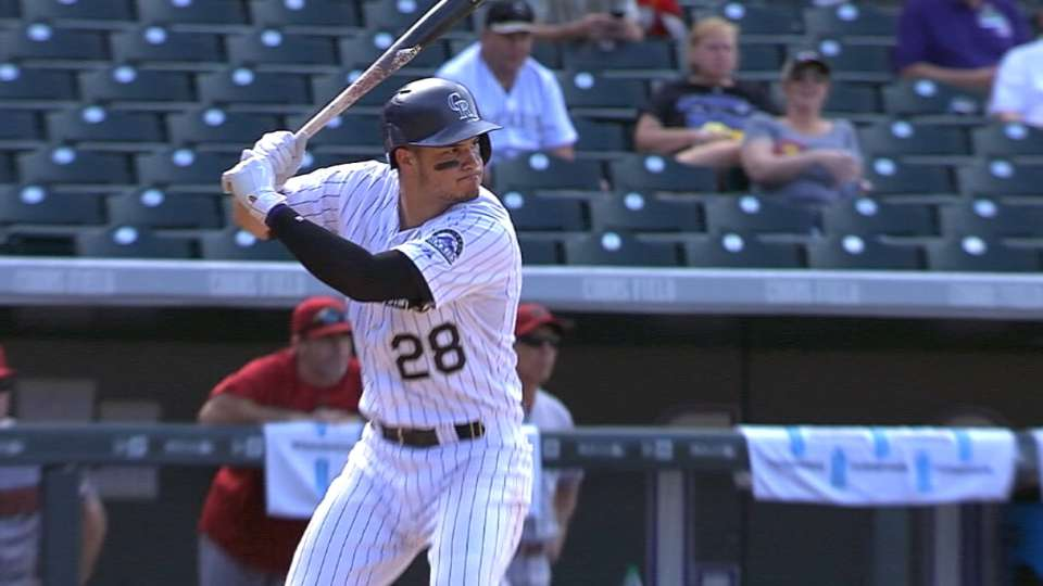Arenado's bat is blazing hot