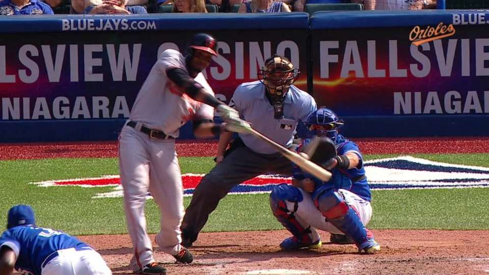 Paredes' RBI double