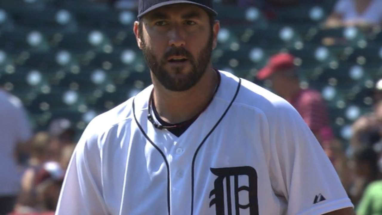 Tough sixth inning spoils Verlander s strong outing 4e4c9c194