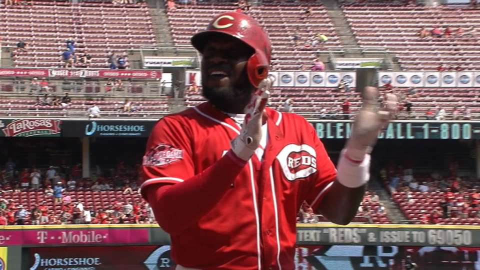 Reds on win over Brewers