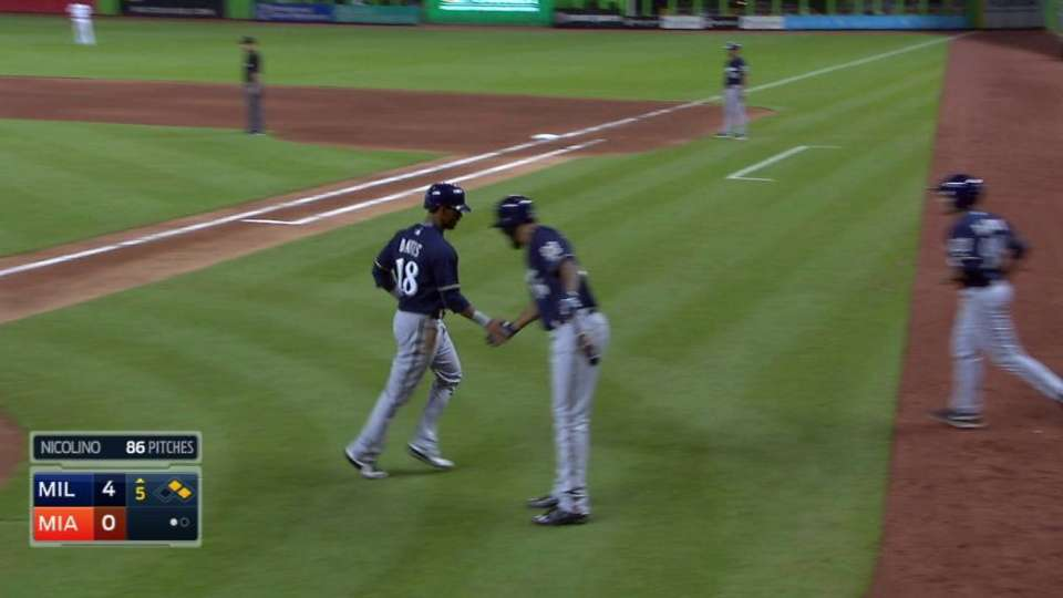 Lind's RBI double