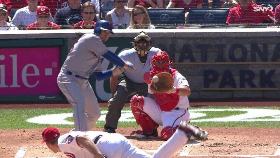 Johnson's solo home run