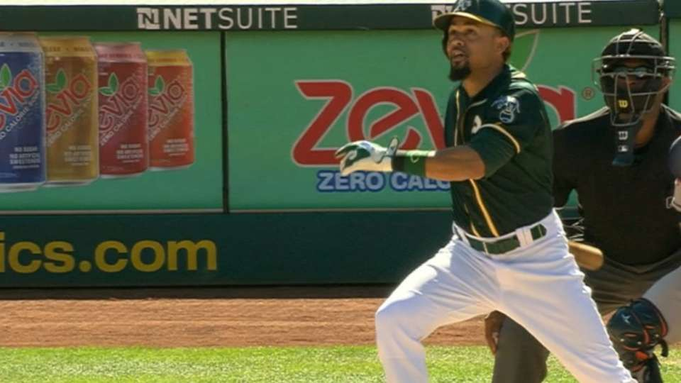 A's score six in the 6th