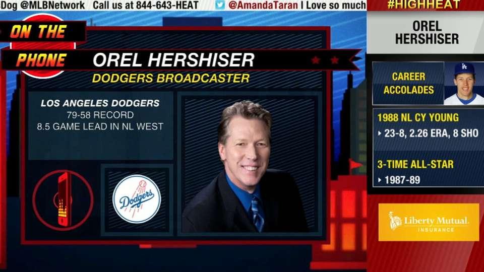 High Heat: Orel Hershiser