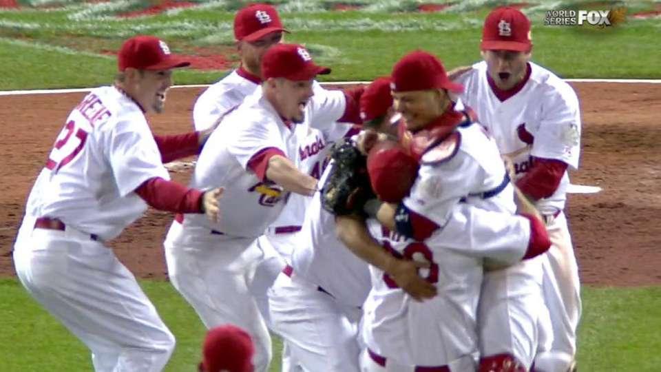 Cardinals win 2011 World Series