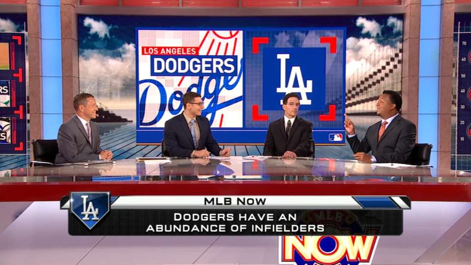 MLB Now on the Dodgers' infield