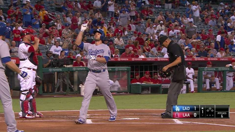Ruggiano's leadoff homer