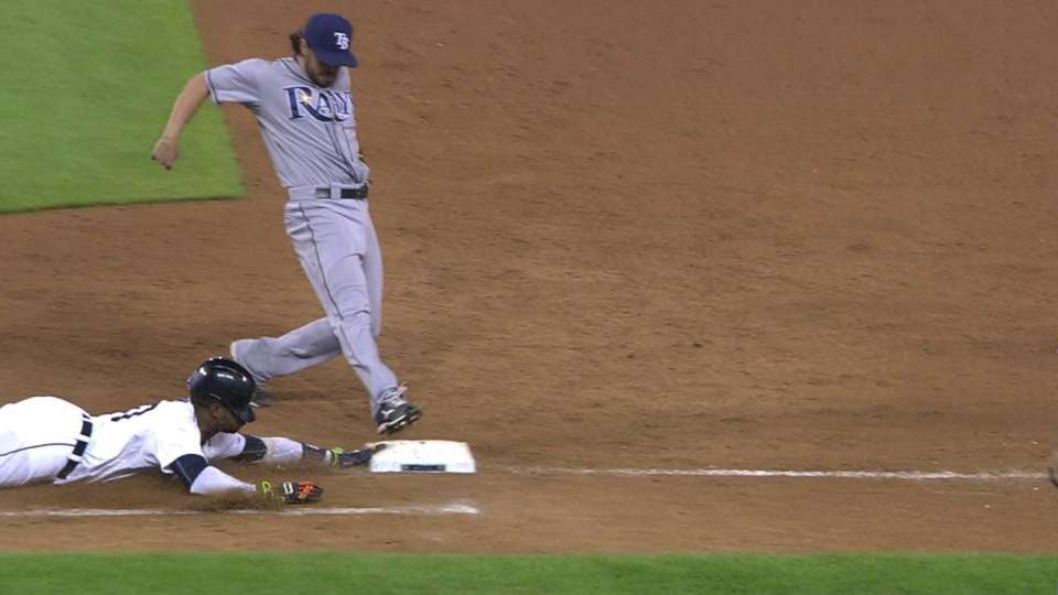 Davis safe at first after review