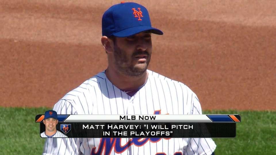 MLB Now on Matt Harvey