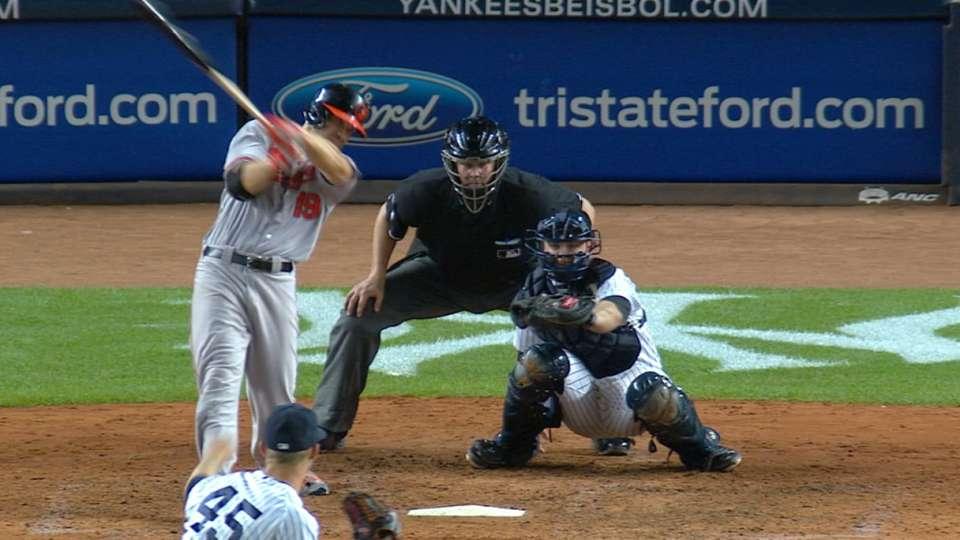 Must C: Davis sinks Yankees