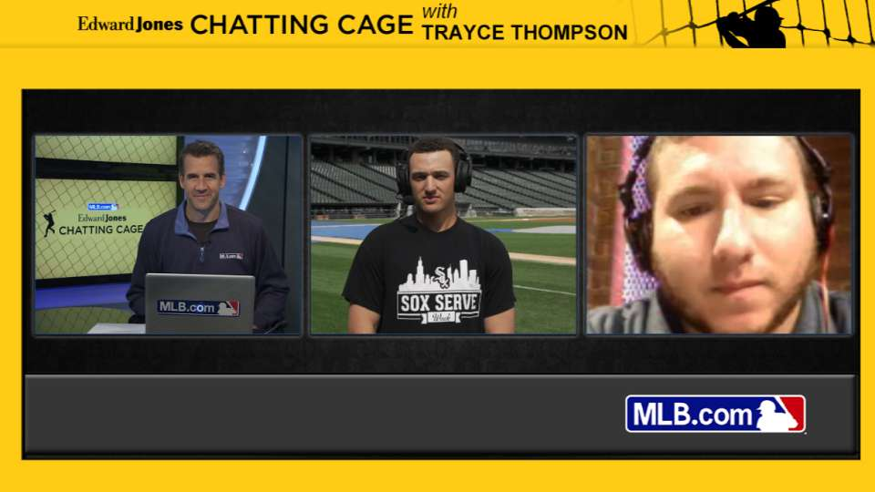 Chatting Cage: Trayce Thompson