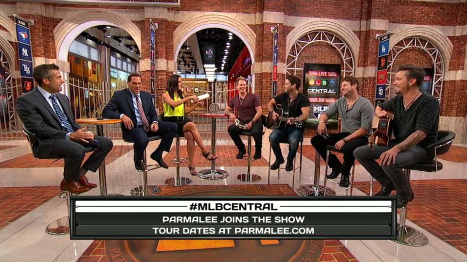 Parmalee on singing at Wrigley